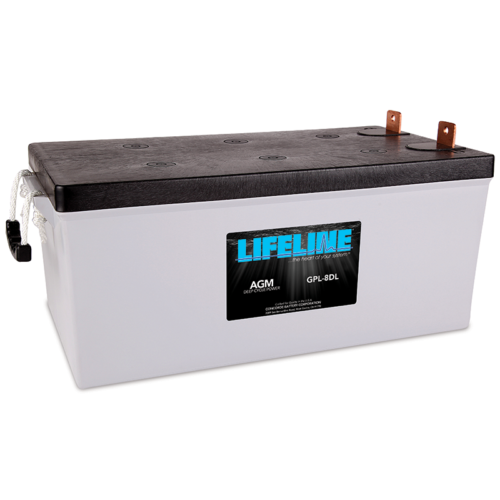Lifeline GPL-8DL battery