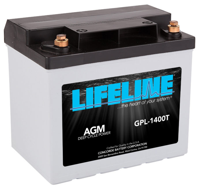Lifeline GPL-1400T R HR Battery
