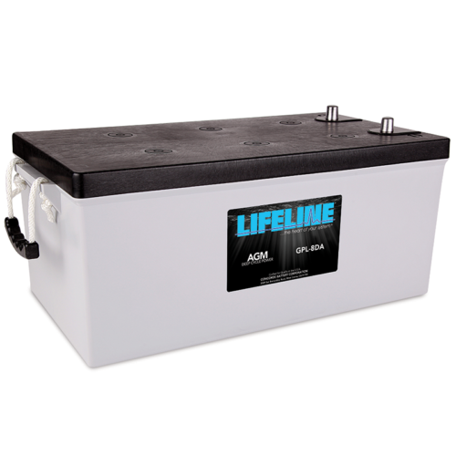 Lifeline GPL-8DA battery